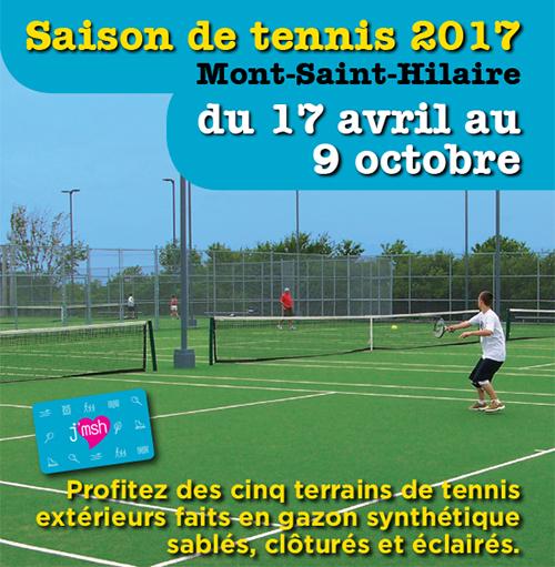 Dépliant Tennis 2017